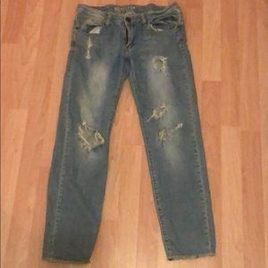 MACHINE Destroyed Ankle Jeans - 11